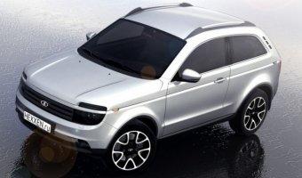 Концерн «АвтоВАЗ» выпустил ходовые макеты обновленной модели внедорожника Lada 4x4