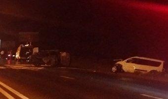 Влобовом ДТП спожаром вПятигорске погибли водитель ипассажир Lada Priora