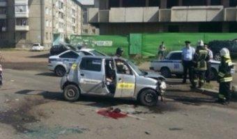В Ангарске в ДТП погиб водитель такси