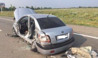 Под Ростовом в тройном ДТП пострадали семь человек