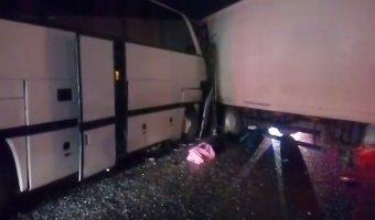 В крупном ДТП с фурой под Калугой погиб человек