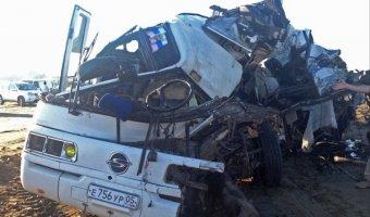 14 июля объявлен в Дагестане днем траура по погибшим в ДТП с автобусом