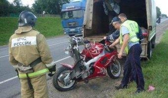 В Чернском районе в ДТП погиб мотоциклист