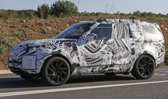 Прототип Land Rover Discovery проходит тесты в Нюрбургринге