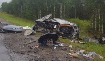 В ДТП с автобусом в Карелии погиб человек