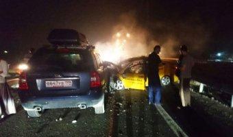 В ДТП в Подмосковье один человек погиб, четверо пострадали