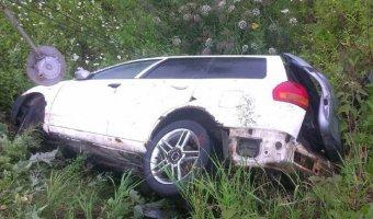 На Сахалине перевернулась машина с семью подростками: двое погибли