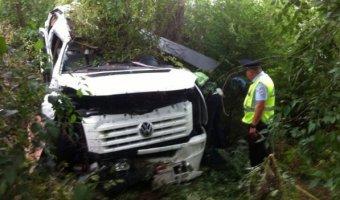 В ДТП с автобусом в Ростовской области погиб один человек и пострадали десять