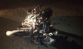 В Темрюкском районе в ДТП погибли мотоциклист с пассажиром