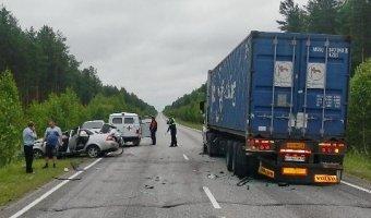 В Шарьинском районе в ДТП погибли два человека
