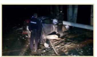 В Воронеже водитель Mazda погиб, врезавшись в опору моста
