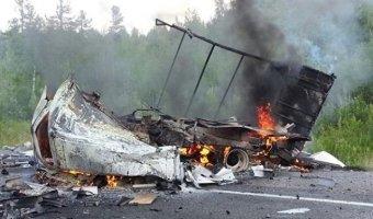 В ДТП с бензовозом в Югре погибли два человека