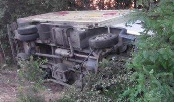 В Бодайбинском районе в ДТП с грузовиком погибла женщина