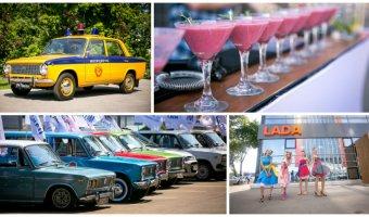 Техинком организовал автопробег в честь 50-летия АВТОВАЗА