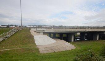 На КАД до октября ограничат движение по мосту через Оккервиль