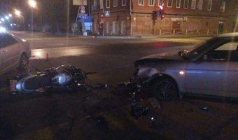 В ДТП в Череповце погиб мотоциклист