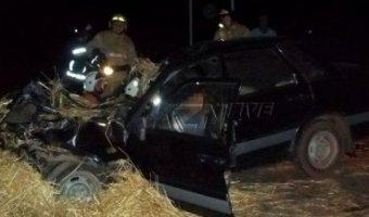 В Татарстане в ДТП с трактором погиб водитель легковушки