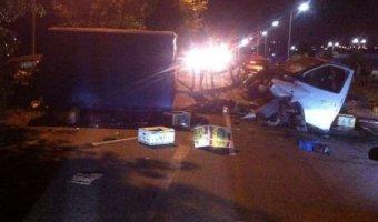 Водитель и ребенок погибли в ДТП под Ростовом