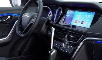 Появились фотографии интерьера кросс-купе СП Nissan и Dongfeng