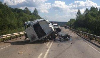 В Пермском крае в ДТП с КамАЗом и Газелью погибли два человека