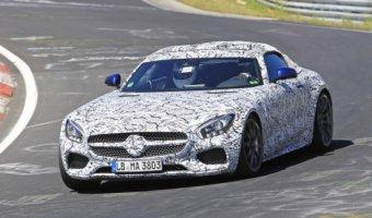 Прототип родстера Mercedes-AMG GT C тестируется на Нюрбургринге