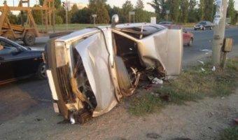 В Тольятти в ДТП с грузовиком погиб водитель ВАЗа