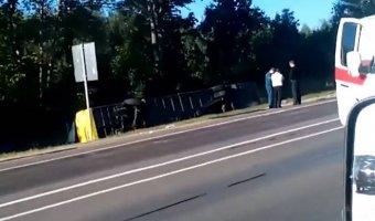 Под Брянском столкнулись автобус и «скорая»: есть пострадавшие