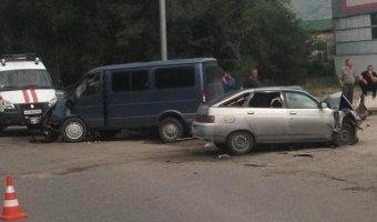 В ДТП с «Газелью» на Ставрополье пострадали три человека