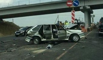 В ДТП в Азовском районе погибли два человека