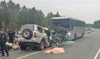 Под Уватом водитель внедорожника уснул и погиб в ДТП