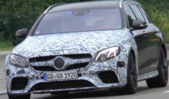 В Сеть выложили видео нового седана и универсала Mercedes-AMG E63