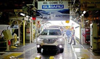 В США выпустили 3-миллионный автомобиль Subaru
