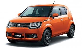 Европейская премьера кроссовера Suzuki Ignis состоится в Париже