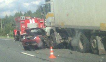 На трассе «Кола» в массовом ДТП погиб человек
