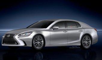 В Сети появились изображения нового поколения седана Lexus LS