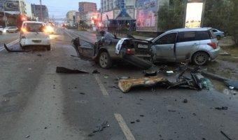 В Якутске по вине пьяного водителя погибли два человека