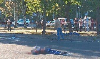 На Украине пьяный водитель насмерть сбил четырех дорожных рабочих