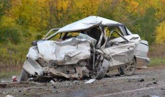 В Тоцком районе в тройном ДТП погиб молодой водитель