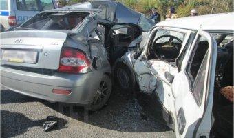 В Кузбассе в ДТП погибли двое полицейских