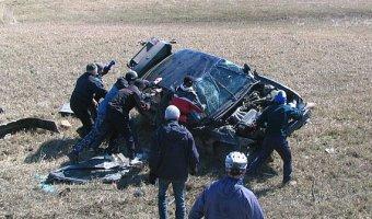 Водитель без прав устроил ДТП с двумя погибшими в Котельниковском районе