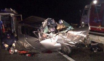 В ДТП с КАМАЗом в Красноармейском районе погибли два человека