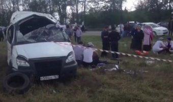 В Чечне в ДТП с маршруткой погиб ребенок
