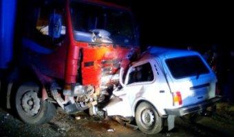В ДТП с грузовиком в Астраханской области погибли два человека
