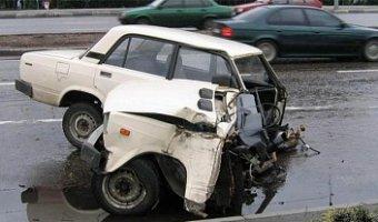 На Кубани в ДТП ВАЗ разорвало пополам: погиб мужчина