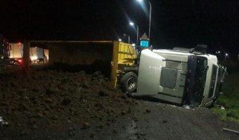 На Кубани в ДТП с фурой погиб мужчина