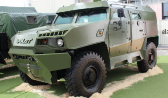 В Сеть выложили видео испытаний нового белорусского броневнедорожника Volat V1