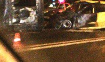В ДТП в Армавире сгорели два человека