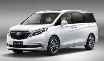 Buick выложил первое фото нового поколения люкс-минивэна GL8
