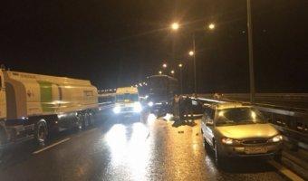 В ДТП на трассе «Нарва» пострадали четыре человека