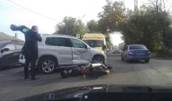 В Ростове в ДТП погиб мотоциклист